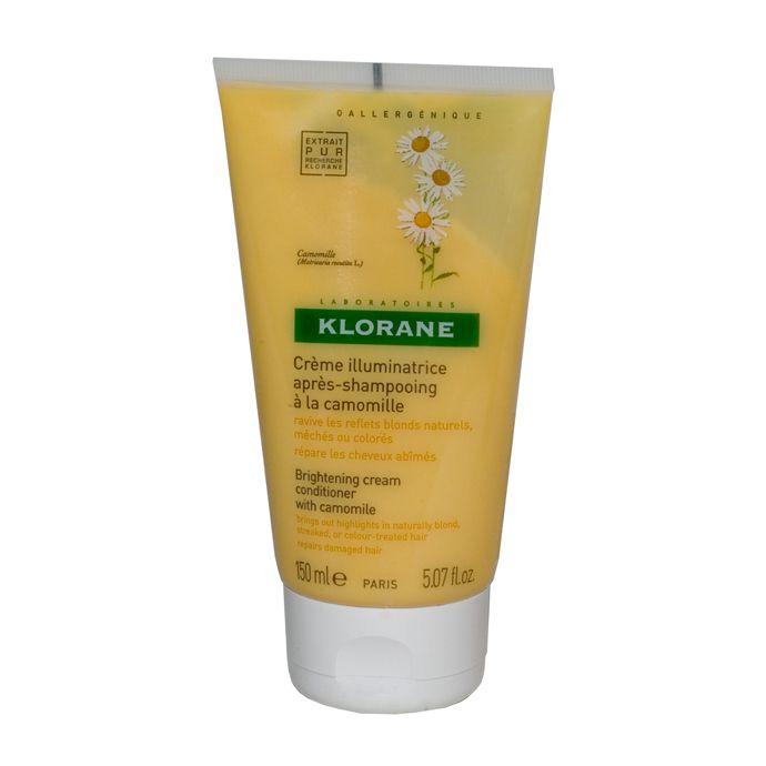 Klorane Крем-блеск с ромашкой для светлых волос, крем-бальзам, 150 мл, 1 шт.