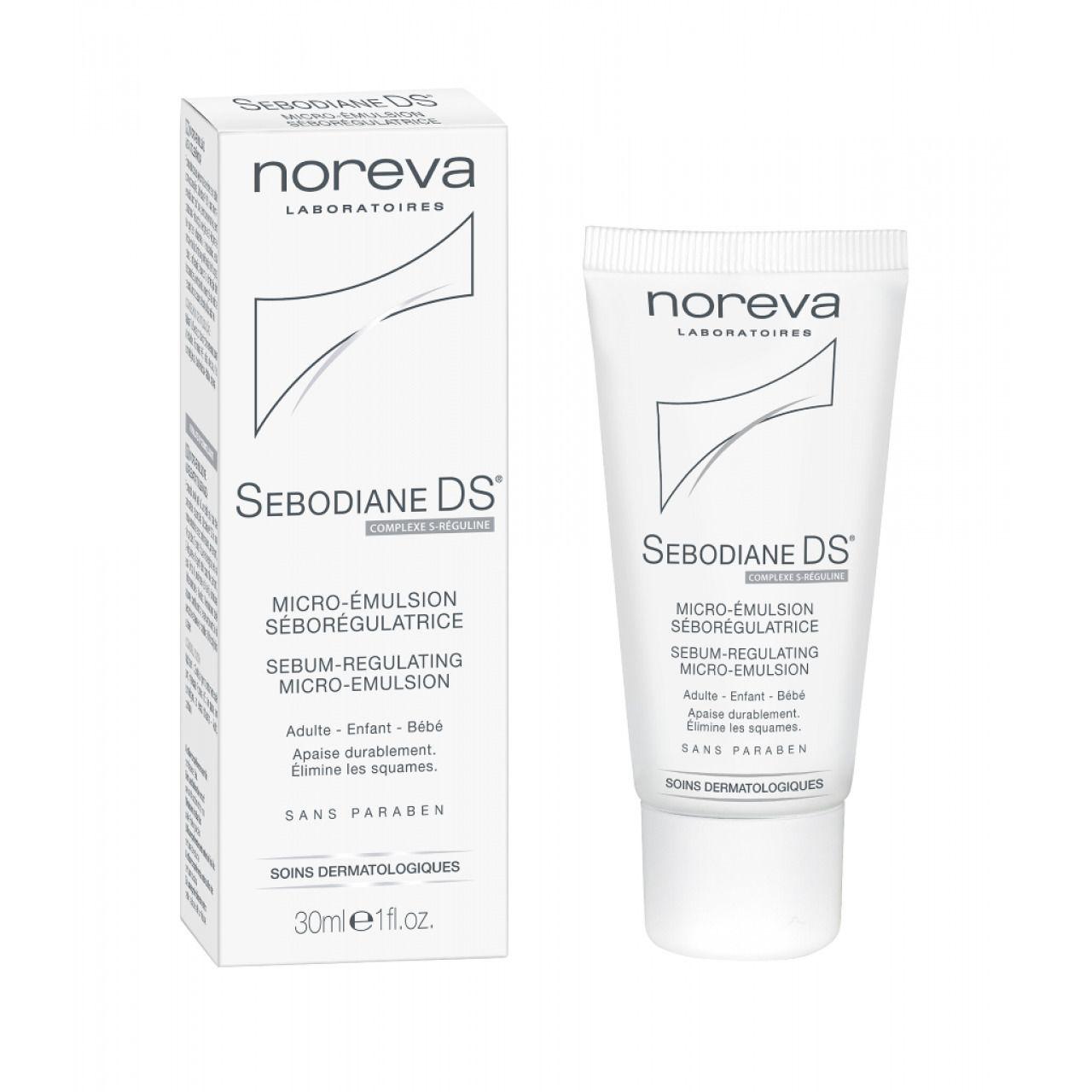 Noreva Sebodiane DS Микроэмульсия, эмульсия для лица, 30 мл, 1 шт.