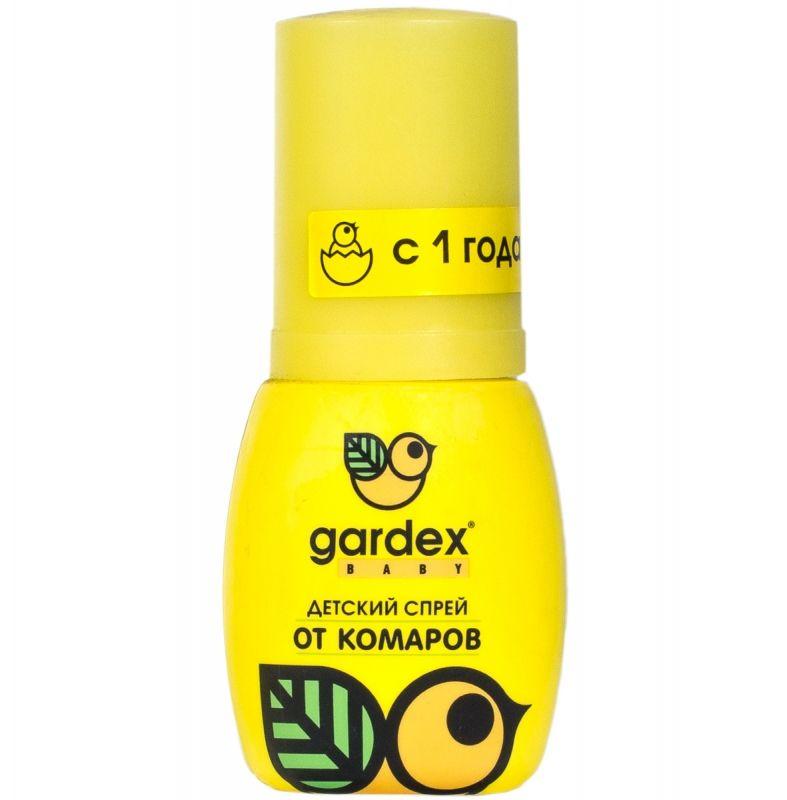 Gardex Baby спрей детский от комаров, спрей для наружного применения, 50 мл, 1 шт.