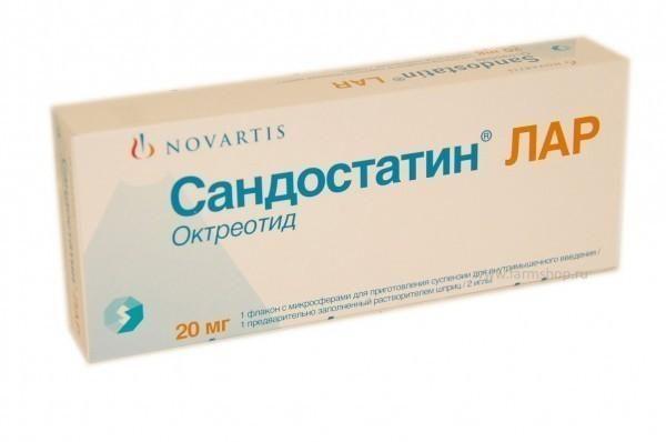фото упаковки Сандостатин Лар