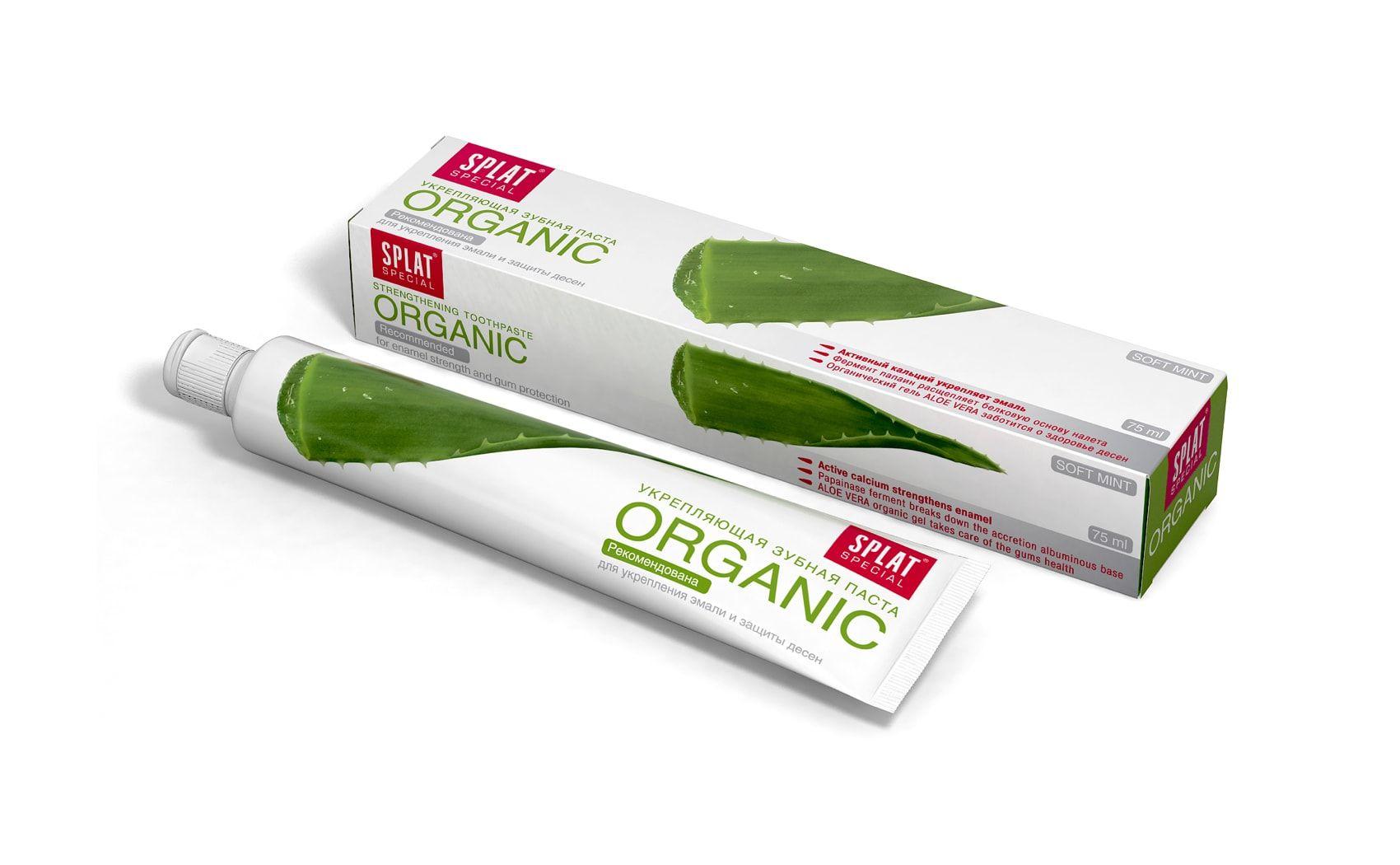 фото упаковки Splat Special Зубная паста Organic