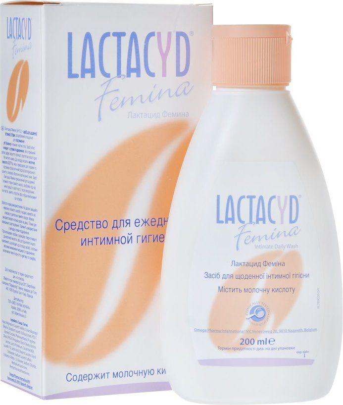 фото упаковки Lactacyd Femina Средство для интимной гигиены