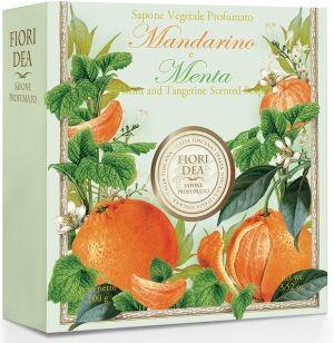фото упаковки Fiori Dea Мыло туалетное Мандарин и мята
