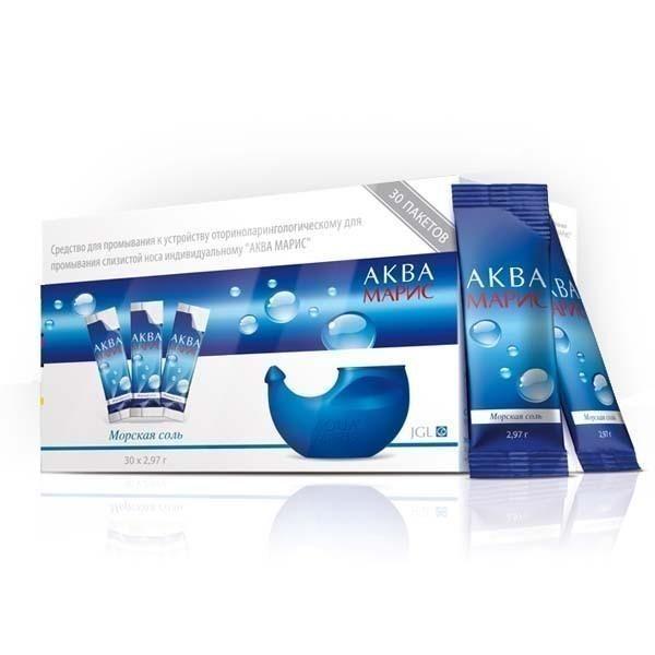 фото упаковки Аква Марис Морская соль