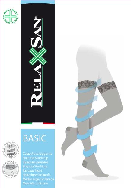 фото упаковки Relaxsan Stay-up Чулки компрессионные профилактика 70 DEN