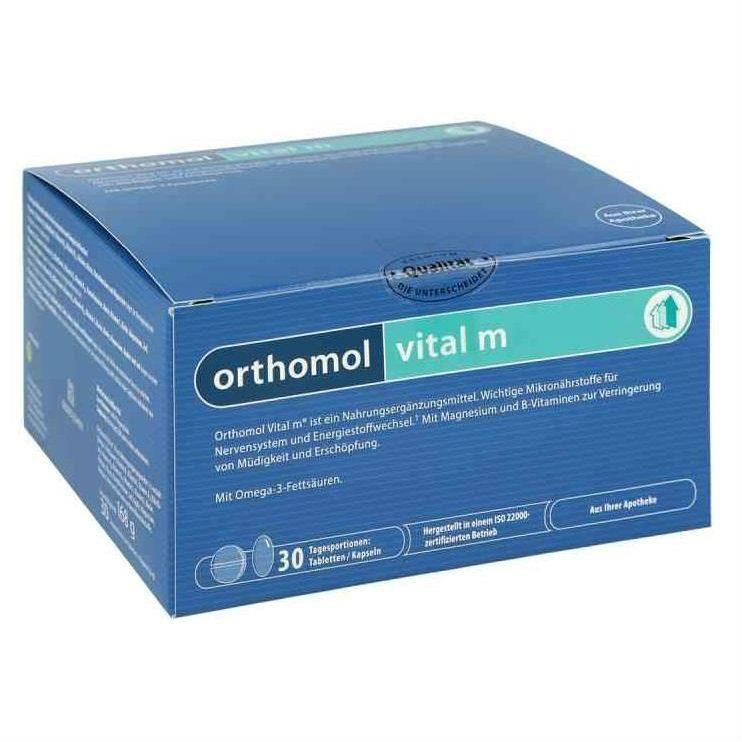 Orthomol Vital M, капсулы и таблетки, на 30 дней, 30 шт.