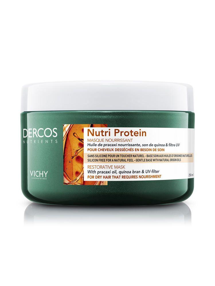 фото упаковки Vichy Dercos Nutrients Nutri Protein Восстанавливающая маска