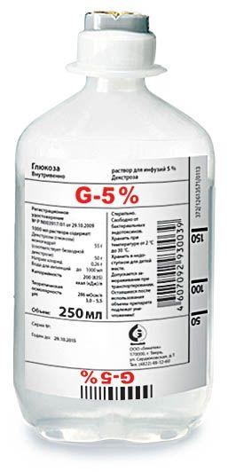 Глюкоза (для инфузий)