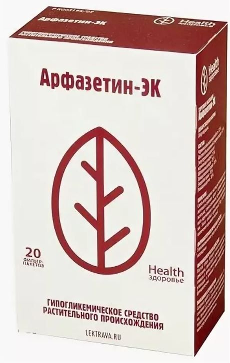 Арфазетин-ЭК, сбор-порошок, 2 г, 20 шт.