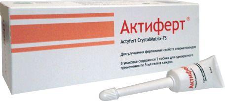 фото упаковки Актиферт CrystalMatrix-FS гель интимный