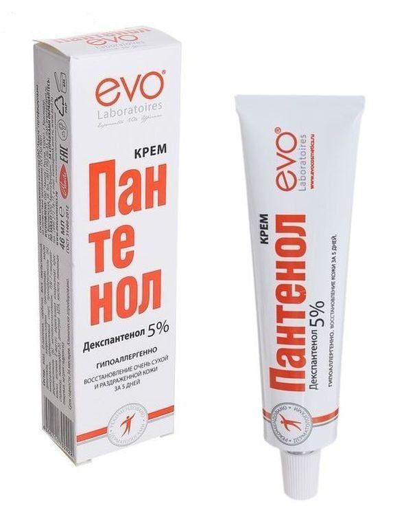 фото упаковки Пантенол EVO крем для тела