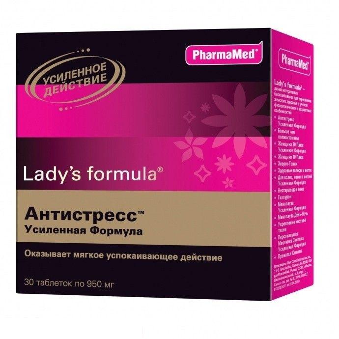 фото упаковки Lady's formula Антистресс усиленная формула