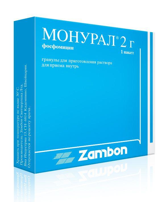 фото упаковки Монурал