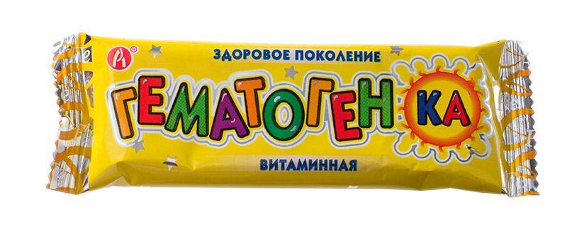 фото упаковки Гематогенка витаминная