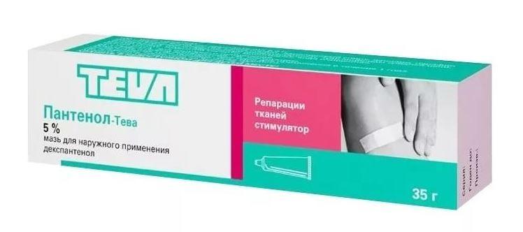 фото упаковки Пантенол-Тева