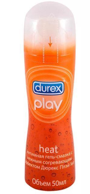 Гель-смазка Durex Play Heat, гель, 50 мл, 1 шт.