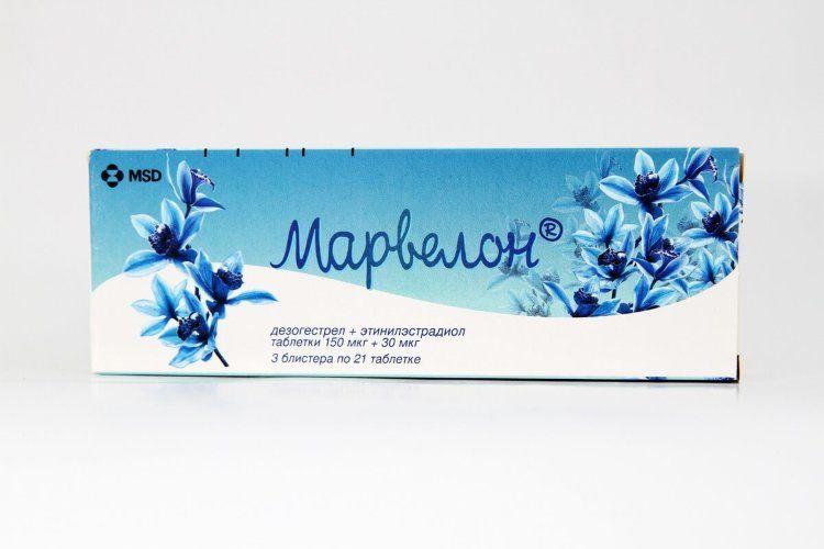фото упаковки Марвелон