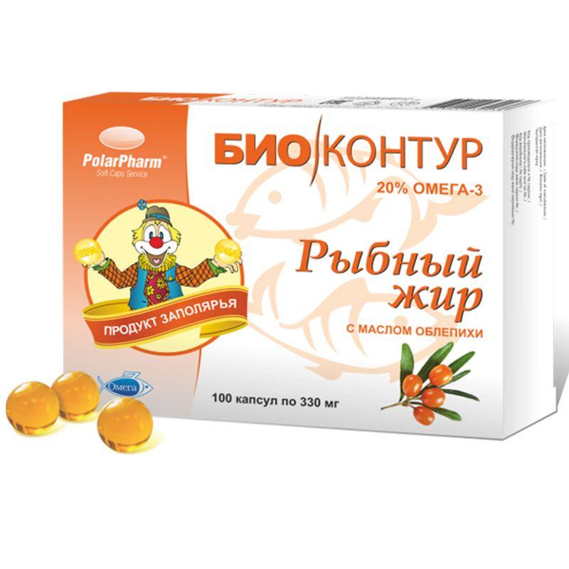 фото упаковки Рыбный жир с маслом облепихи