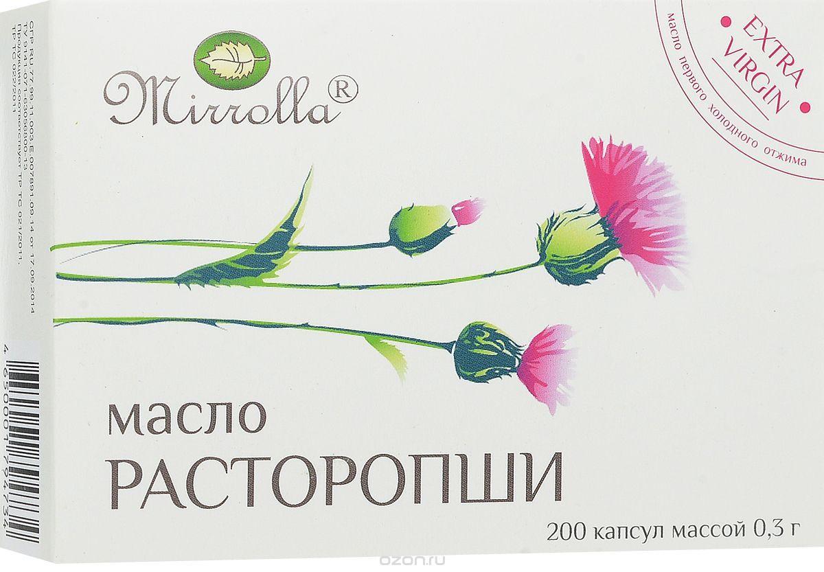 фото упаковки Масло расторопши Мирролла