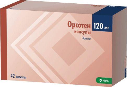фото упаковки Орсотен