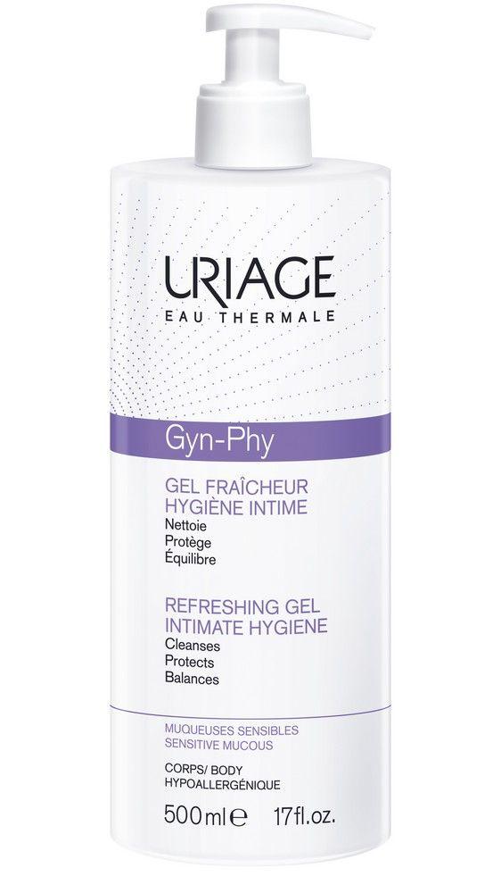 фото упаковки Uriage Gyn-Phy Освежающий гель для интимной гигиены
