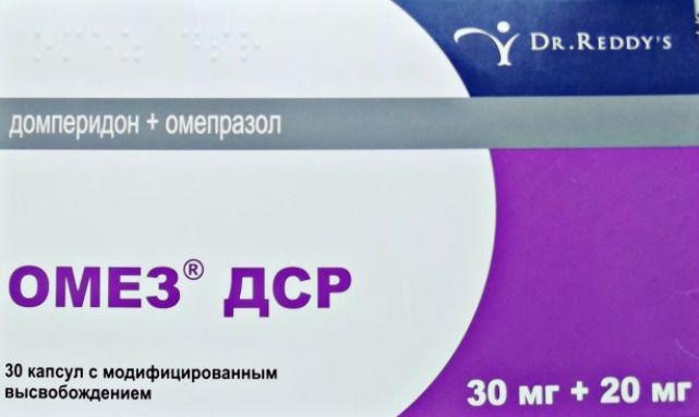 фото упаковки Омез ДСР