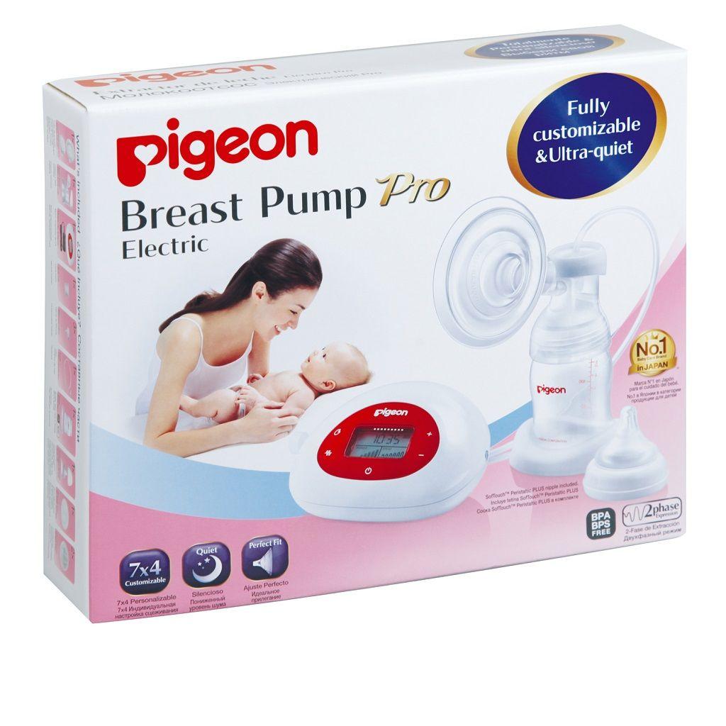 фото упаковки Pigeon молокоотсос электронный двухфазный Pro