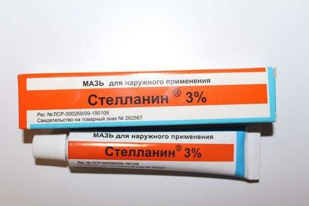Стелланин, 3%, мазь для наружного применения, 20 г, 1 шт.