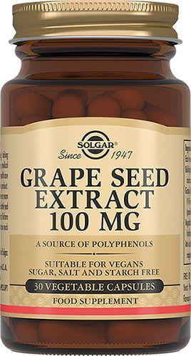 фото упаковки Solgar Экстракт виноградных косточек