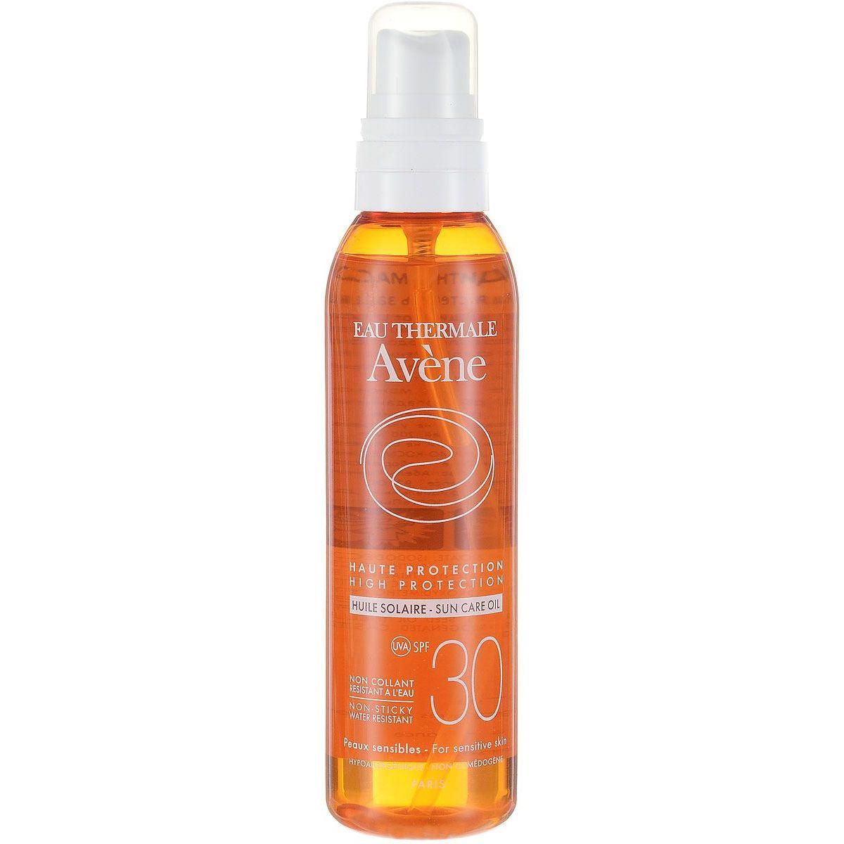 Avene солнцезащитное масло SPF30, масло для наружного применения, 200 мл, 1 шт.