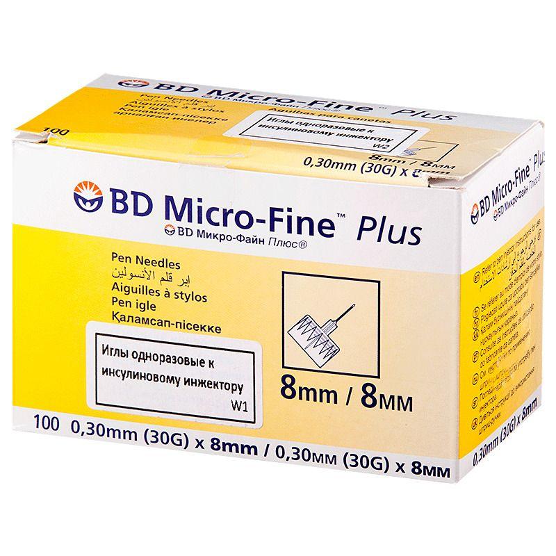 фото упаковки Игла одноразовая к инсулиновому инжектору BD Micro-Fine Plus