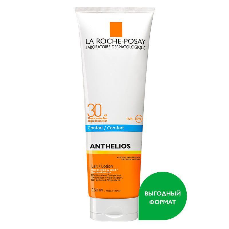фото упаковки La Roche-Posay Anthelios SPF30 молочко для лица и тела