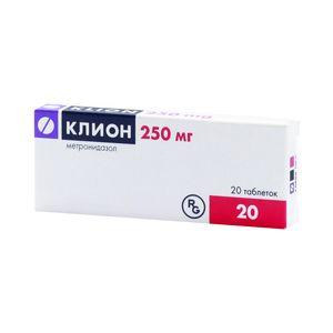 Клион, 250 мг, таблетки, 20 шт.