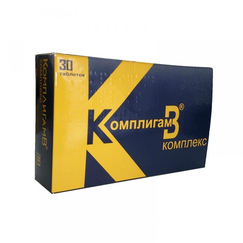 КомплигамB Комплекс, таблетки, 30 шт.