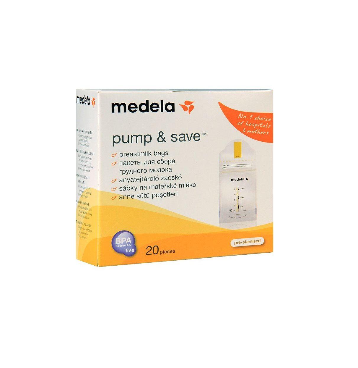 Medela Пакеты для хранения грудного молока, одноразовый (-ая, -ое, -ые), 20 шт.