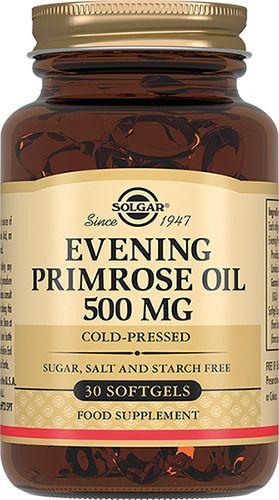 фото упаковки Solgar Масло примулы вечерней 500 мг