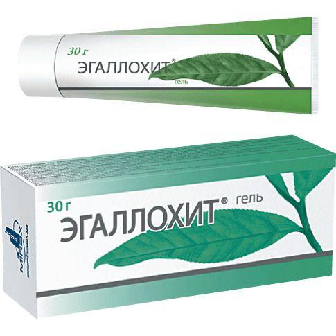 Эгаллохит, гель для наружного применения, 30 г, 1 шт.