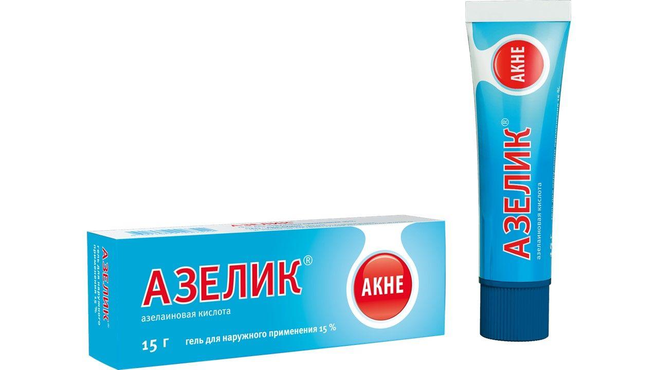 Азелик, 15%, гель для наружного применения, 15 г, 1 шт.