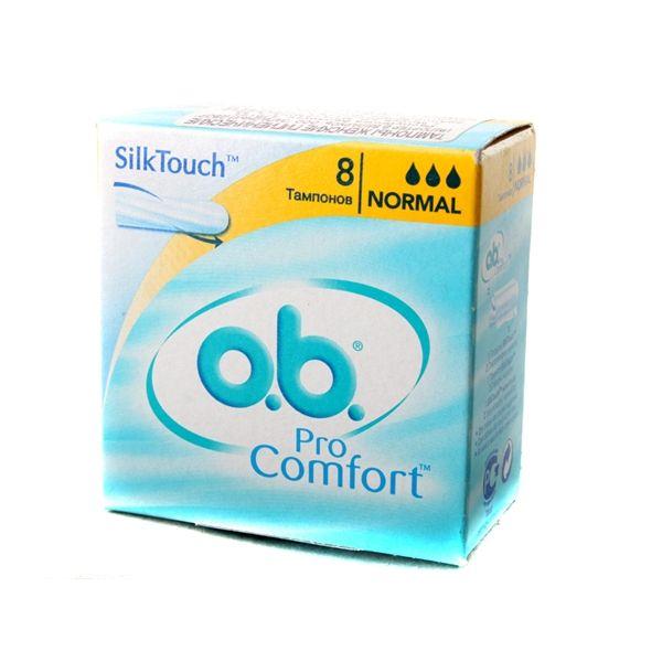 фото упаковки o.b. ProComfort normal тампоны женские гигиенические