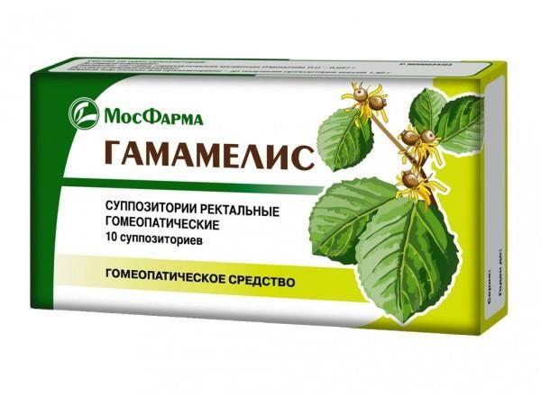 фото упаковки Гамамелис