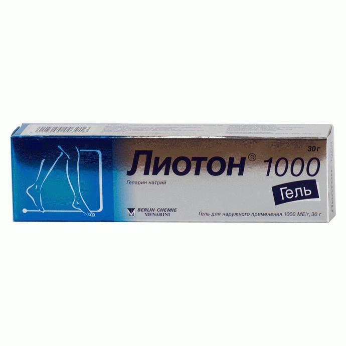 фото упаковки Лиотон 1000