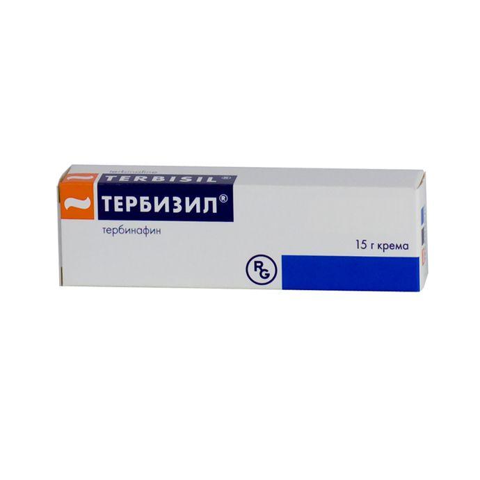 Тербизил, 1%, крем для наружного применения, 15 г, 1шт.