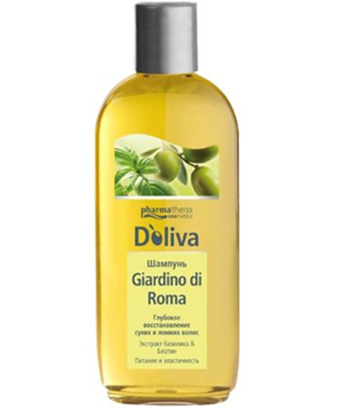 Doliva Шампунь Giardino di Roma глубокое восстановление сухих и ломких волос, шампунь, 200 мл, 1 шт.