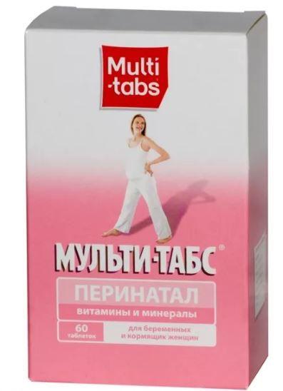 фото упаковки Мульти-табс Перинатал