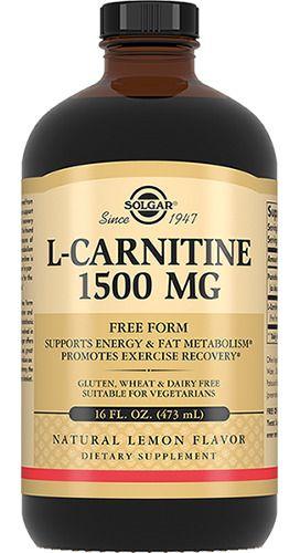 фото упаковки Solgar Жидкий L-карнитин 1500 мг
