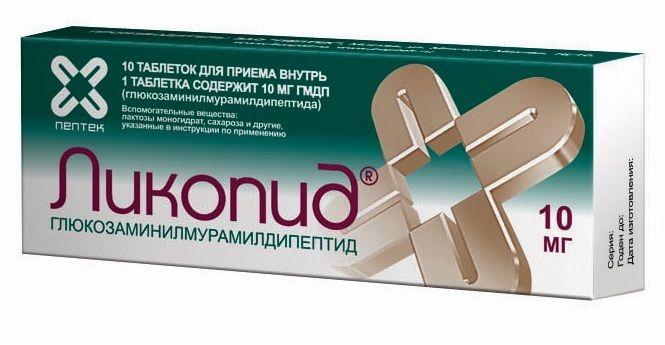 фото упаковки Ликопид