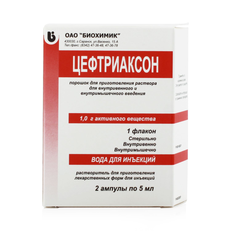антибиотик для лечения инфекций половых органов