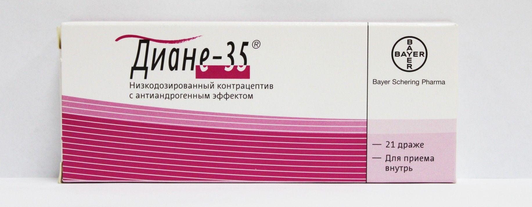 фото упаковки Диане-35 - отзывы