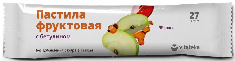 фото упаковки Витатека Пастила фруктовая Яблочная