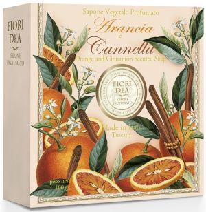 фото упаковки Fiori Dea Мыло туалетное Апельсин и корица